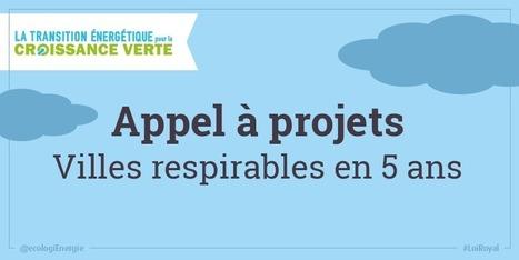 Collectivités locales : l'appel à projets « Villes respirables en 5 ans » - Ministère du Développement durable | Prospective pour une ville en transition | Scoop.it