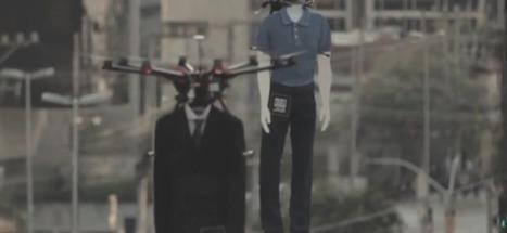 Des mannequins volants à São Paulo | streetmarketing | Scoop.it