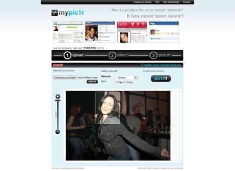 Mypictr. Créer un avatar pour tous les réseaux sociaux. | Time to Learn | Scoop.it