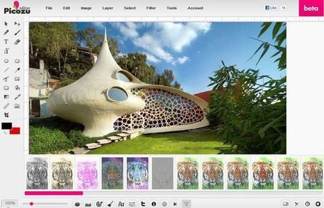 Picozu, dibujo y retoque fotográfico con este editor web | Herramientas digitales | Scoop.it