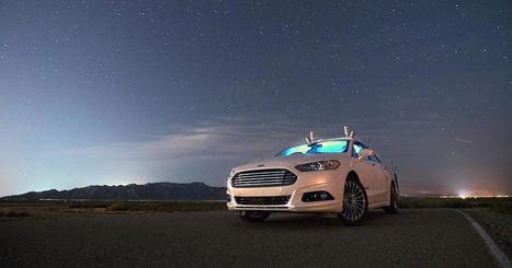 Vidéo Insolite : les voitures autonomes de Ford dans l'obscurité totale | Pulseo - Centre d'innovation technologique du Grand Dax | Scoop.it