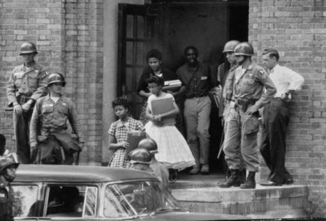 Black History Month - Little Rock Central High School September 1957 | Community Village World History | Scoop.it