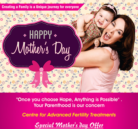 Mothers Day Special Offer in ARC Research Center | IVF Clinic Tamil Nadu | Scoop.it