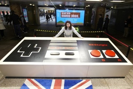 Gadget Innovation: World's Largest Nintendo Controller | The Jazz of Innovation | Scoop.it