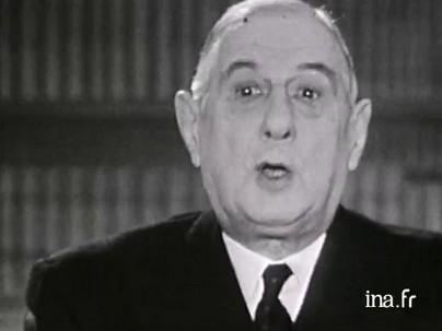 31 décembre 1963 : les voeux pour l'année 1964 - Charles de gaulle - paroles publiques - Ina.fr | Que s'est il passé en 1963 ? | Scoop.it