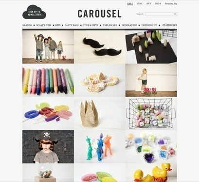Assembly designs new look for children's brand Carousel | News | Design Week | Corporate Identity | Scoop.it