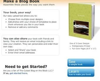 Turn Blog posts into a BOOK   Life Feast   TEFL & Ed Tech   Scoop.it