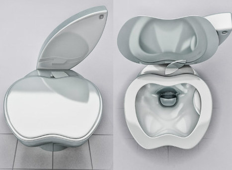 IcreativeD: Apple iPoo Toilet | Bathrooms | Scoop.it