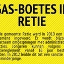 Infografiek: GAS-boetes in Retie | Gemeentelijke Administratieve Sancties | Scoop.it