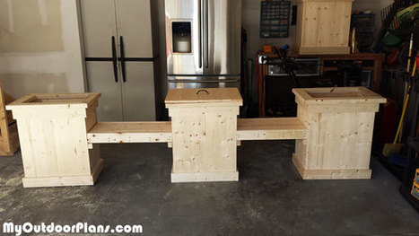DIY Planter Bench With Storage | MyOutdoorPlans | Free Woodworking Plans and Projects, DIY Shed, Wooden Playhouse, Pergola, Bbq | Garden Plans | Scoop.it