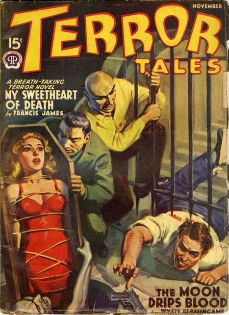 Terror tales   Pulp Covers   Vintage & images   Scoop.it