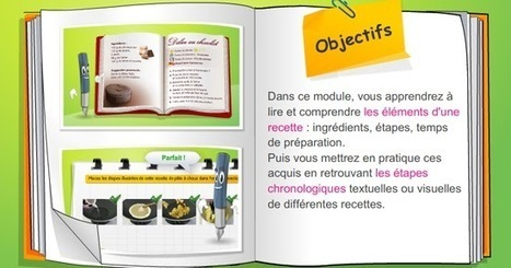 Autour de la gastronomie: Lire et comprendre une recette : écouter , s'entrainer | FLE enfants | Scoop.it