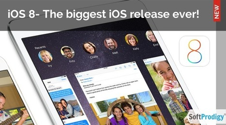 Apple's iOS 8: What Makes the Platform Embraceable | SoftProdigy | iOS Mobile Apps | Scoop.it