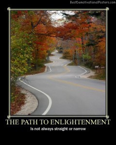 The Path To Enlightenment | Demotivational Posters | Scoop.it