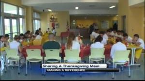 Making a Difference: Sharing a Thanksgiving meal - KGNS.tv | Everyday Leadership | Scoop.it
