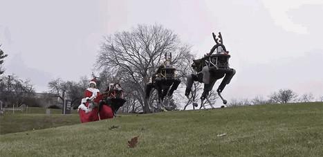 Boston Dynamics' Robo-Dogs Pulling a Sleigh Is a Terrifying Glimpse of Christmas Future | Une nouvelle civilisation de Robots | Scoop.it