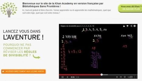 Cours sur YouTube : Salman Khan réinvente l'éducation... et pourquoi pas l'entreprise ? | elearning | Scoop.it