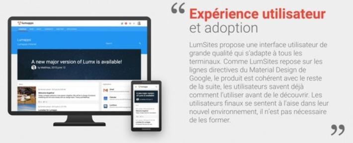 Lumsites : la nouvelle génération d'intranet   TIC et TICE mais... en français   Scoop.it