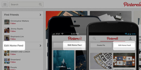Pinterest Get a Little More Personal With New 'Edit Home Feed' Feature | ten Hagen on Social Media | Scoop.it