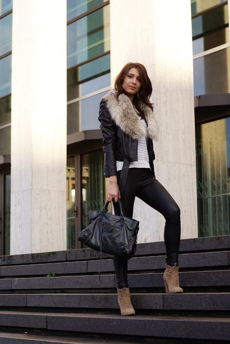 Winter outfit idea #1 (myfloorisred.com)   Street Style   Scoop.it