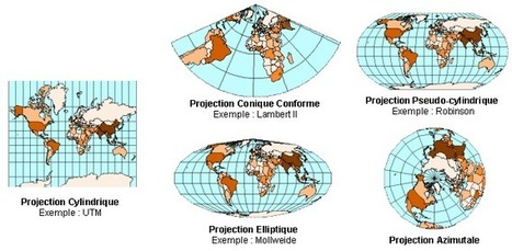 Une carte interactive pour mieux comprendre les déformations induites par les projections cartographiques | Veille cartographique 2.0 | Des liens en Hist-Géo | Scoop.it