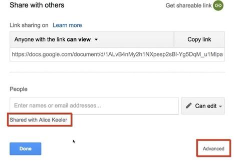 Sharing Settings in Google Docs - Teacher Tech   INNOVATIVE CLASSROOM INSTRUCTION   Scoop.it