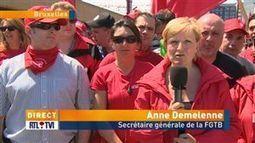 Anne Demelenne revient sur les revendications et la manifestation nationale des syndicats - Vidéo - RTL Vidéos   ActuChomage.info   Scoop.it
