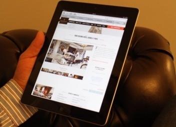 La tablette, nouveau canal de distribution incontournable | Chambres d'hôtes et Hôtels indépendants | Scoop.it