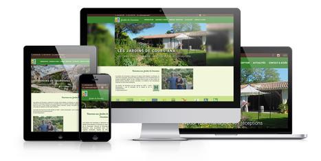 Site internet #drupal pour les Jardins de Coursiana | Création sites internet Drupal & Magento made in Gers - Toulouse | Scoop.it