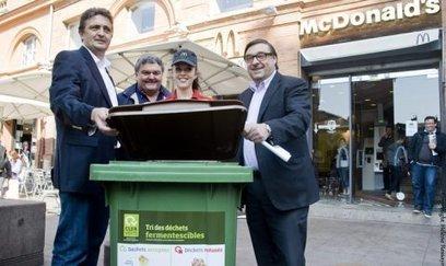17 Mac Donald's de Toulouse entament le recyclage de leurs déchets organiques, une première en France   Actualités entreprise Toulouse et Midi Pyrénées : Objectif News. Informations économie, busin...   Veille déchets   Scoop.it