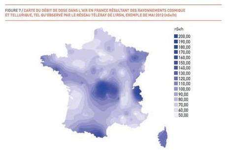 La France est-elle radioactive ? L'IRSN publie son bilan | les sciences de lestoile | Scoop.it