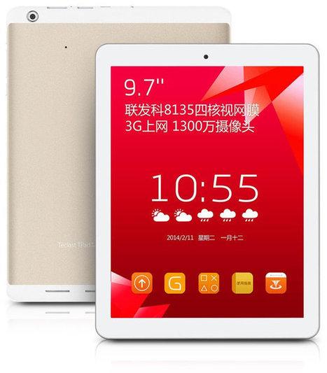 Teclast P98 3G Tablet is Powered by Mediatek MT8135 big.LITTLE SoC | Embedded Systems News | Scoop.it