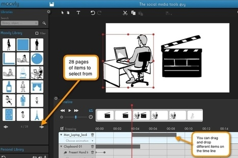 Animated Videos: 5 Tools to Create Animation Videos in a Flash | PLE-PLN | Scoop.it