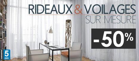 Store sur mesure, volet roulant, film vitre et rideau avec Stores-Discount.com   Prix Travaux et Déco   Scoop.it