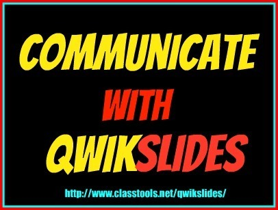 Free Technology for Teachers: QwikSlides - Quickly Create Multimedia Presentations | Create and Communicate | Scoop.it