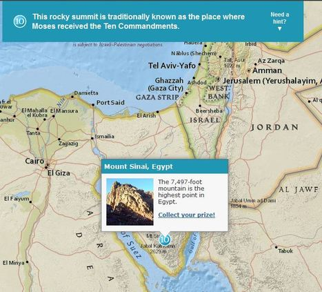 Esri Story Map Treasure Hunt | Geography Education | Scoop.it