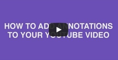 How to Use YouTube Annotations [VIDEO] | Surveillance Products | Scoop.it