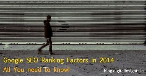 All You Need to Know About the #SEO Ranking Factors for Google in 2014 #Infographic | Effective Inbound marketing practices | Scoop.it