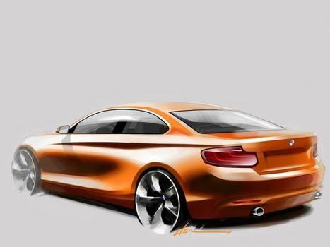 The new BMW 2 Series Coupé - Design process ~ Autoblog The-Car-Addict.com | Lifestyle | Scoop.it