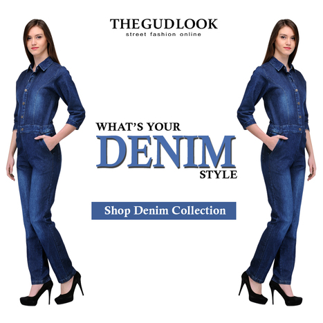 What's# Your# Denim# Style# Shop# Denim# Collection# From# www.thegudlook.com | Street Fashion is what thegudlook.com promises to bring to you Online every day week after week. | Scoop.it