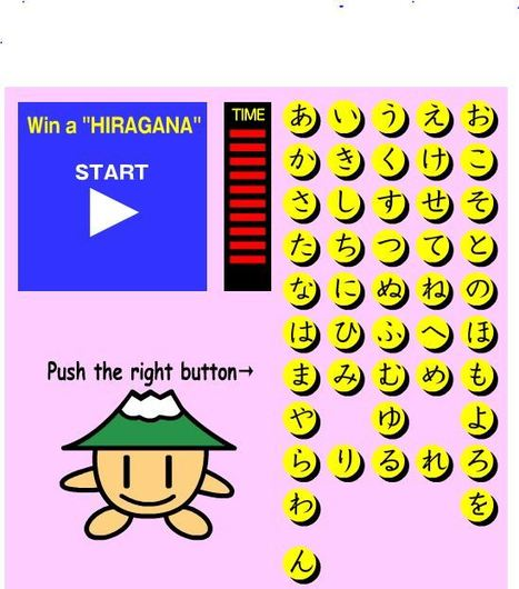 Game - Win the Hiragana! | Learning Japanese | Scoop.it