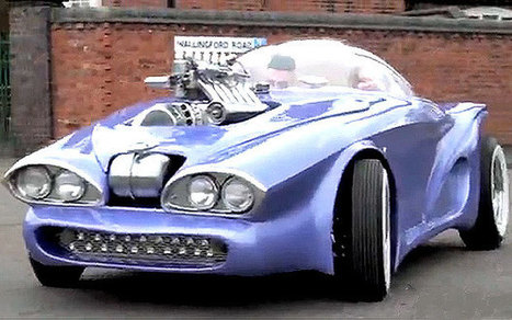 Man builds roadworthy car from household rubbish - Telegraph | Radio Show Contents | Scoop.it