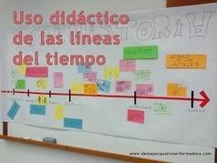 De mayor quiero ser formadora: Uso didáctico de las líneas del tiempo | EDUDIARI 2.0 DE jluisbloc | Scoop.it