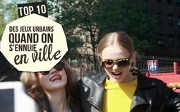 Top 10 des jeux urbains quand on s'ennuie en ville ! | Mobilier urbain | Scoop.it