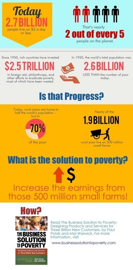 The Business Solution to Poverty   Infographic: Global Poverty   Social Finance Matters (investing and business models for good)   Scoop.it