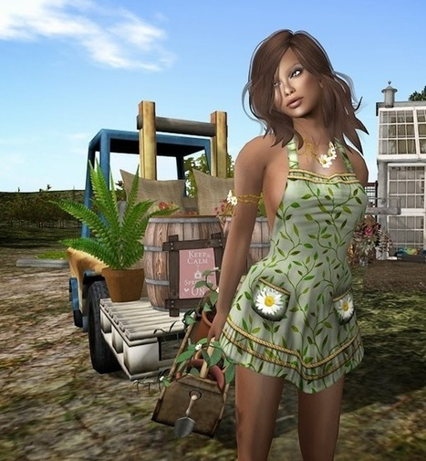 Chic at Phil's Place: Feeling Spring | Meri - first and second life aggregator | Scoop.it