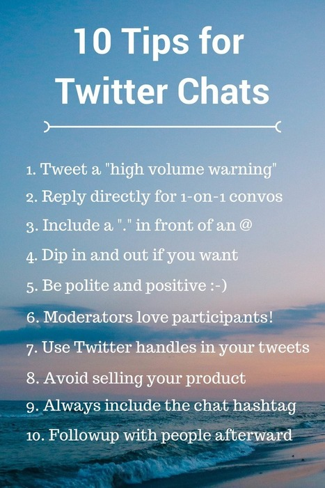A Step-by-Step Guide To Hosting or Joining a Twitter Chat | Educational Use of Social Media | Scoop.it
