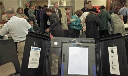 Early Voting Sees Calibration Issues With Some Touchscreen Voting Machines | TheBlaze.com | Gov and Law-- Brenna Voeltz | Scoop.it