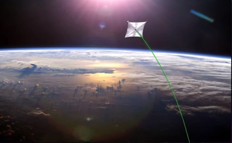 NASA researchers are working on a laser propulsion system that could get to Mars in 3 days | Space matters | Scoop.it