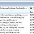 How to Customize the File Open/Save Dialog Box in Windows | Meanwhile in the NET | Scoop.it